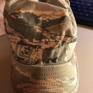 Air Force Camo cap size 7 1/4